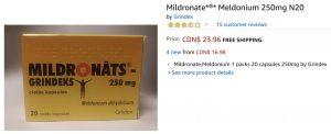 Meldonium online su Amazon e in farmacia galenica: il doping è a portata di click